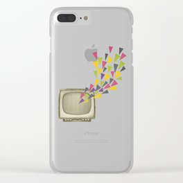 Transmission Clear iPhone Case