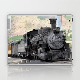 Waiting on the Siding at Silverton for Another Train to Arrive Laptop & iPad Skin