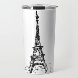 Tour Eiffel Travel Mug