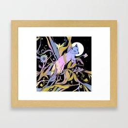 Wild Emergence Framed Art Print