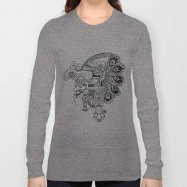 Mayan Warrior Long Sleeve T-shirt