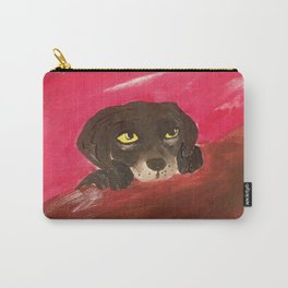 Jake, the baby Labrador Carry-All Pouch