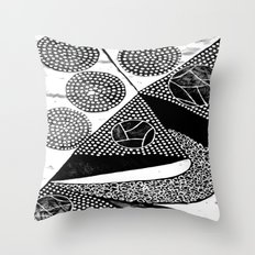 Power Magnet Throw Pillow
