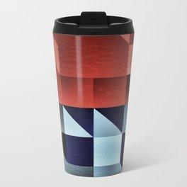 :: geometric maze IX :: Metal Travel Mug
