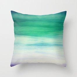 Sea abstract Throw Pillow