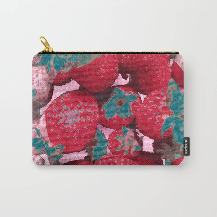 Strawberry Love (Lost Time) Carry-All Pouch