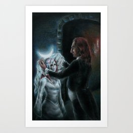 The Wedding Art Print