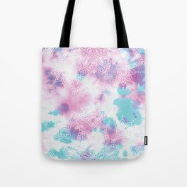 Henna Tie Dye Tote Bag