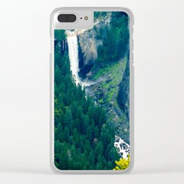 Vernal Fall, Yosemite National Park Clear iPhone Case