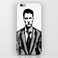 tyler durden iPhone & iPod Skins featuring Tyler Durden by Shahbab