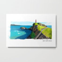 Oh the places I'll never go, Ireland Metal Print