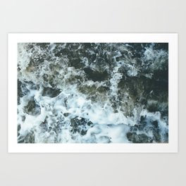 Grand River Splashing Art Print