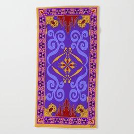 Aladdin's Magic Carpet Beach Towel