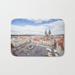 Old Town Square in Prague Bath Mat