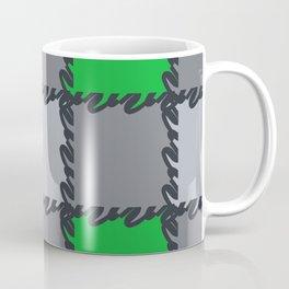 check it-green Coffee Mug