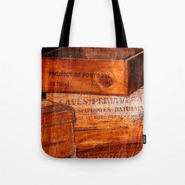 Wine crates Tote Bag
