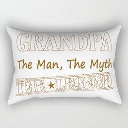 Grandpa The Legend Rectangular Pillow