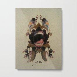 Tantrum Metal Print