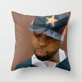 J DILLA Throw Pillow