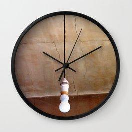 Turn on the Light Wall Clock