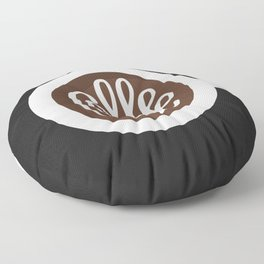 Coffee Floor Pillow