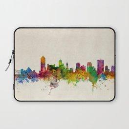 Memphis Tennessee Skyline Cityscape Laptop Sleeve