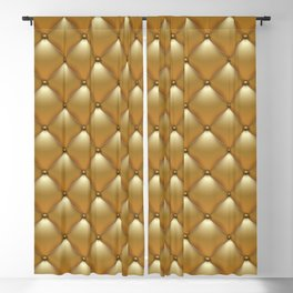 Gold leather texture sofa Blackout Curtain