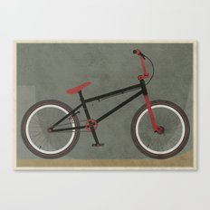 BMX Bike Canvas Print