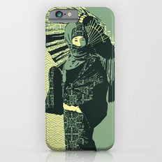 ASIAN WOMAN-GREEN VERSION Slim Case iPhone 6s