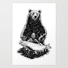 Bearware Art Print