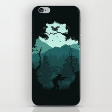 Hunting Season - Blue iPhone Skin