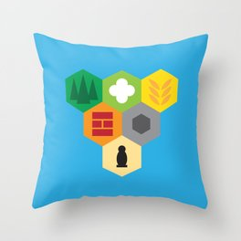 Trade for Wood? Throw Pillow