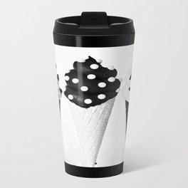 Ice Cream Black Travel Mug