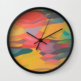 Fairytale Sunset Wall Clock