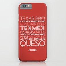 Austin — Delicious City Prints Slim Case iPhone 6s