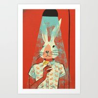 cocktail Art Prints featuring Cocktail by Roland Lefox