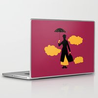 mary poppins Laptop & iPad Skins featuring Mary Poppins by FilmsQuiz