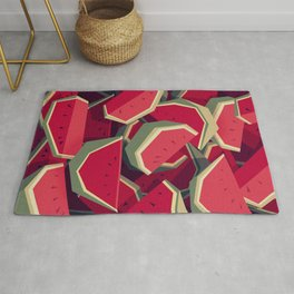 Too many watermelons Rug