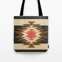 aztec Tote Bags featuring Aztec 1 by Aztec