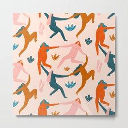 Nymphs pattern Metal Print