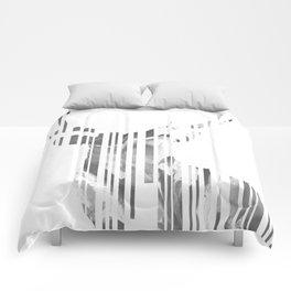 Geometric black Stag Comforters