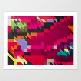 Converge I Art Print