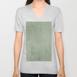 Modern elegant stylish blush green abstract pattern Unisex V-Neck