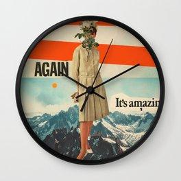 Again, It's Amazing Wall Clock