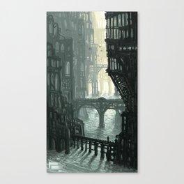 City of Bridges Canvas Print