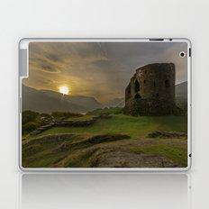 Dolbadarn Castle Sunrise Laptop & iPad Skin