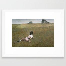 Christina's World - Andrew Wyeth Framed Art Print