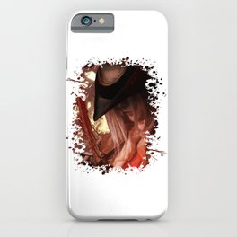 Blood Hunter iPhone Case