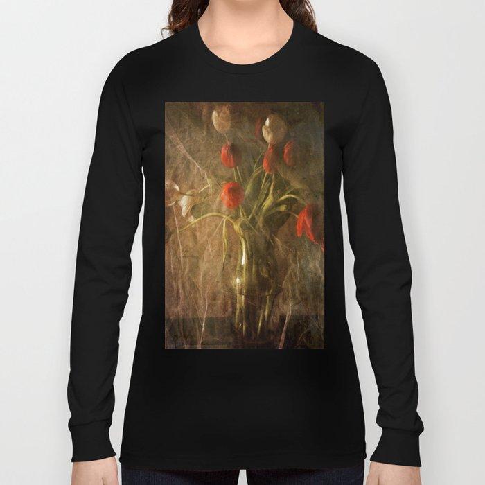 Vase with Tulips Long Sleeve T-shirt