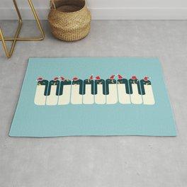 The Penguin Choir Rug